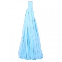 Кисточка тассел голубая