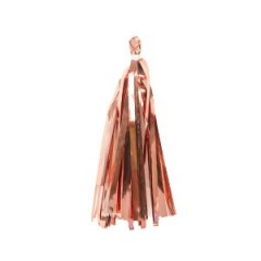 Кисточка тассел розовое золото