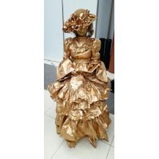 """Живая статуя  """"Дама"""""""