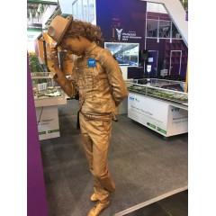 """Живая статуя """"Майкл"""""""