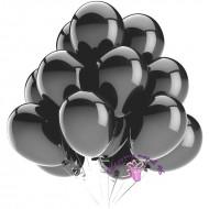 """Воздушный шар без рисунка """"Черный"""""""