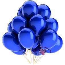 "Воздушный шар без рисунка ""Синий"""