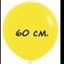 Воздушный шар 60 см желтый