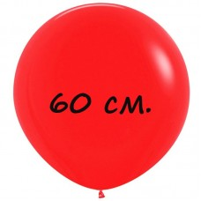 Воздушный шар 60 см красный