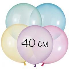 """Воздушный шар """"Кристалл ассорти"""" 40 см"""