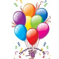 Фонтаны из воздушных шаров