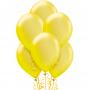 """Воздушный шар """"Желтый металлик"""""""