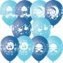 """Воздушные шары """"Новорожденным"""" мальчик"""