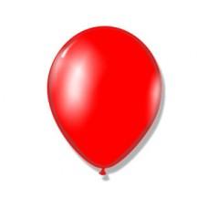 """Воздушный шар без рисунка """"Красный"""""""