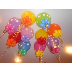 """Воздушный шар с рисунком """"С цветком"""""""