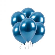 "Воздушный шар без рисунка ""Синий хром"""