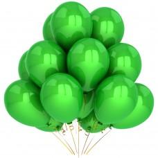 """Воздушный шар без рисунка """"Зеленый"""""""