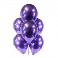 """Воздушный шар без рисунка """"Фиолетовый хром"""""""