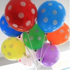 Воздушные шары  на палочке с рисунком