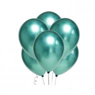 """Воздушный шар без рисунка """"Зеленый хром"""""""