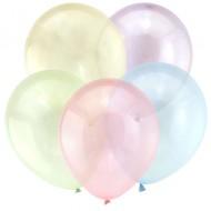 "Воздушный шар без рисунка ""Ассорти"" кристалл"