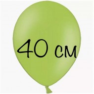 """Воздушный шар без рисунка """"Лайм"""" 40 см"""