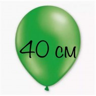 """Воздушный шар без рисунка """"Зеленый"""" 40 см"""