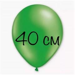 Воздушный шар 40 см  зеленый