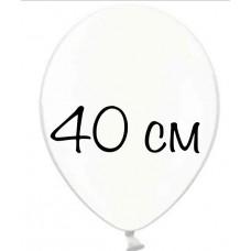 """Воздушный шар без рисунка """"Прозрачный"""" крупный"""
