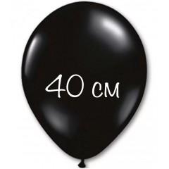 Воздушный шар 40 см черный