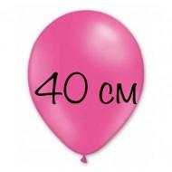 """Воздушный шар без рисунка """"Фуксия"""" 40 см"""