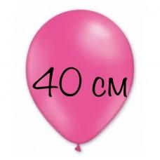 """Воздушный шар без рисунка """"Фуксия"""" крупный"""