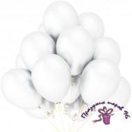 """Воздушный шар без рисунка """"Белый"""""""
