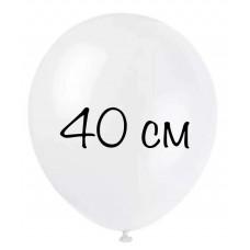 """Воздушный шар без рисунка """"Белый"""" крупный"""
