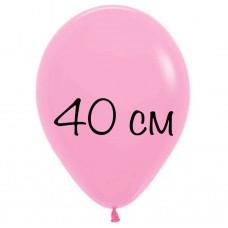 """Воздушный шар без рисунка """"Розовый"""" крупный"""