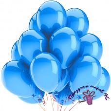 """Воздушный шар без рисунка """"Голубой"""""""