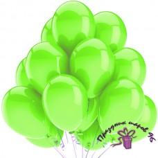"Воздушный шар без рисунка ""Лайм"""