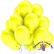 """Воздушный шар без рисунка """"Желтый"""""""