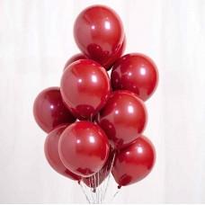 """Воздушные шары """"Стеклянные"""" красный"""