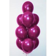 """Воздушные шары """"Стеклянные"""" фуксия"""