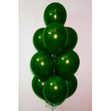 """Воздушные шары """"Стеклянные"""" зеленый"""
