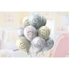 """Воздушные шары  """"Слоник и облачка"""""""