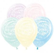 """Воздушные шары  """"Морозное Граффити"""" макарунс"""