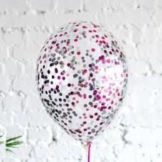 """Воздушные шары """"Конфетти"""" микс"""