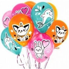 """Воздушные шары """"Милые зверята"""""""