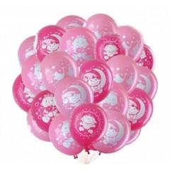 """Воздушные шары """"Новорожденным"""" девочка"""
