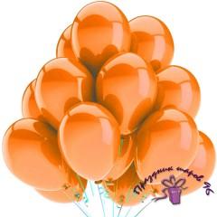 """Воздушный шар без рисунка """"Оранжевый"""""""