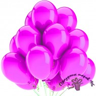 "Воздушный шар без рисунка ""Фуксия"""