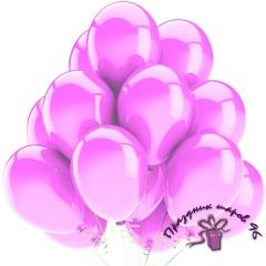 """Воздушный шар без рисунка """"Розовый"""""""