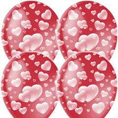 """Воздушные шары """"Сердечки"""""""