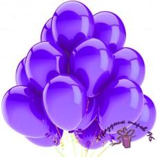 """Воздушный шар без рисунка """"Фиолетовый"""""""