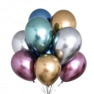 """Воздушные шары """"Ассорти"""" хром"""