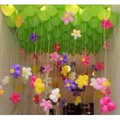 """Воздушный шар без рисунка """"Цветочек"""""""