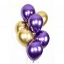 """Воздушный шар """"Фиолетовый хром"""""""