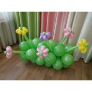 Полянка с цветами